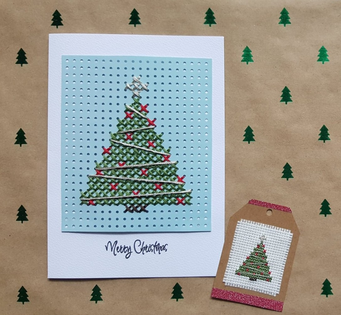 Christmas cross stitch workshop