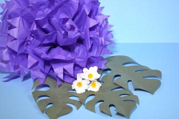 paper flower making flowers