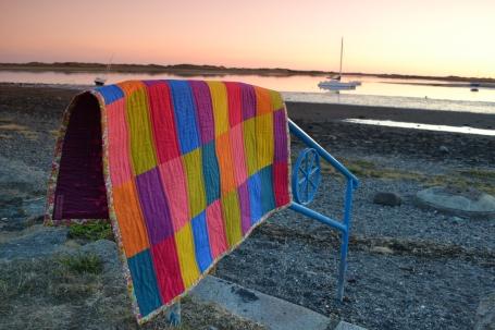 Multicolour Quilt in ravenglass