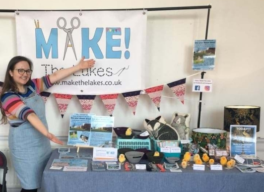 make the lakes at craft fair kym