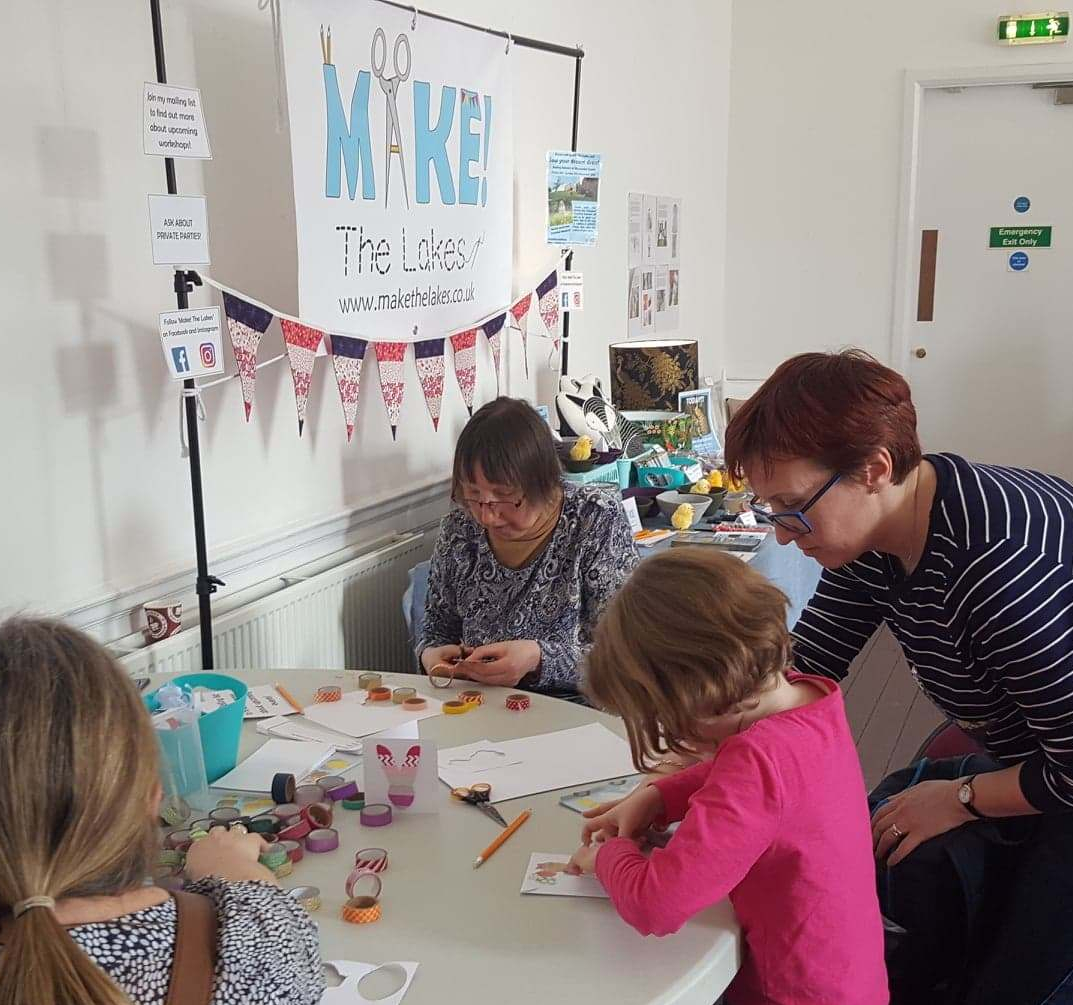 washi tape crafts workshop