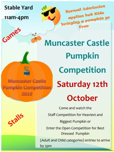Muncaster Pumpkin compertition