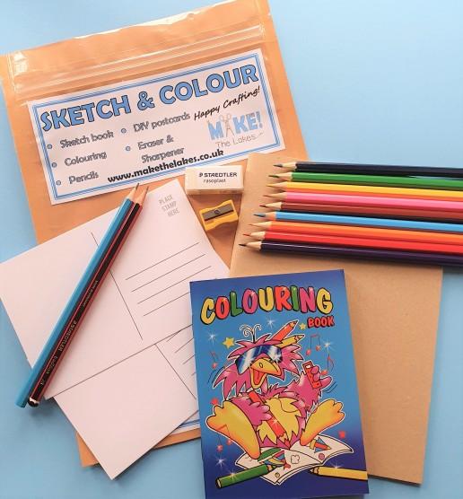 Sketch & Colour Contents